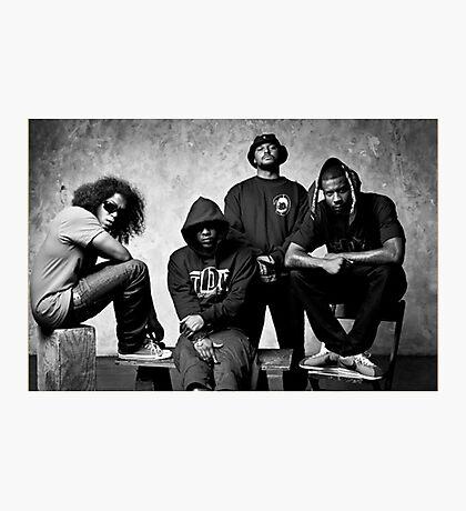Black Hippy B/W Photographic Print