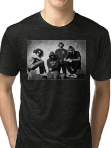 Black Hippy B/W Tri-blend T-Shirt