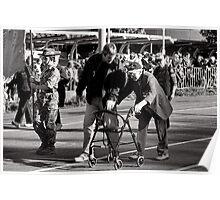 Melbourne ANZAC day parade 2013 - 11 Poster
