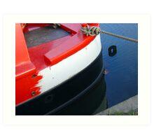 narrowboat hull Art Print