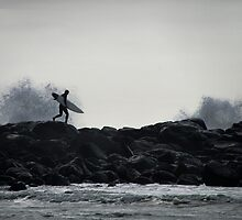 Hit the surf by Norman Repacholi