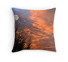 Another Amazing Sunset Throw Pillow