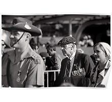 Melbourne ANZAC day parade 2013 - 16 Poster