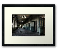 Doors-a-plenty Framed Print