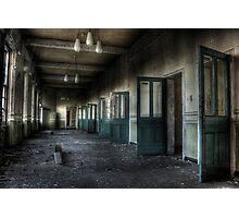 Doors-a-plenty Photographic Print