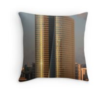 Sunset Tower  Throw Pillow