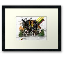 Destiny Hive fan art print Framed Print