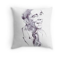 Sir Norman Wisdom Throw Pillow