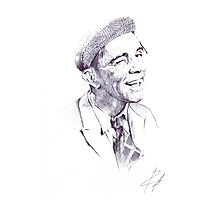 Sir Norman Wisdom Photographic Print