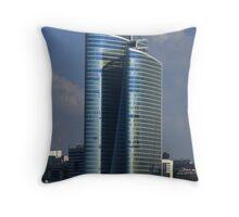 Midday Tower - Abu Dhabi Throw Pillow