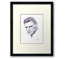 Richard Burton CBE Framed Print