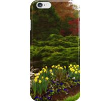 New Leaves and Flowers - Impressions Of Spring iPhone Case/Skin