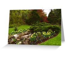 New Leaves and Flowers - Impressions Of Spring Greeting Card