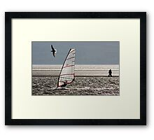Land, sea, air Framed Print