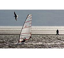 Land, sea, air Photographic Print