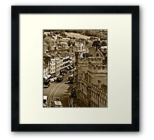 Oxford High Framed Print