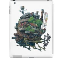 8bit Howl's Moving Castle iPad Case/Skin