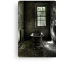 Dismal Bath Day Canvas Print