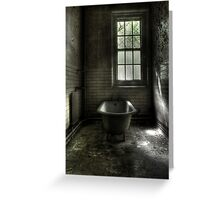 Dismal Bath Day Greeting Card