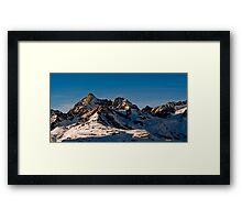 trifthorn panorama Framed Print