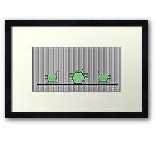 Tea set 2 Framed Print