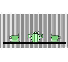 Tea set 2 Photographic Print