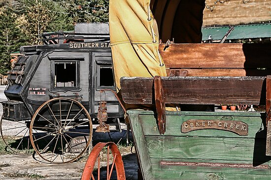 Westward Wagons by Patricia Montgomery