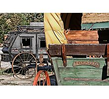 Westward Wagons Photographic Print