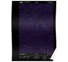 Maine USGS Historical Map Wallagrass Lakes 20110831 TM Inversion Poster