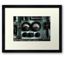 Gauge Porn Framed Print