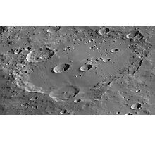High-Resolution Clavius Photographic Print