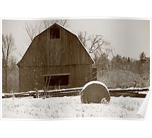 covered barns Poster
