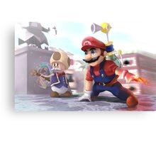 Super Mario Sunshine Fanart Canvas Print