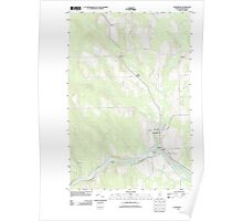 Maine USGS Historical Map Washburn 20110909 TM Poster