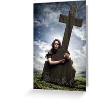 mourning Greeting Card