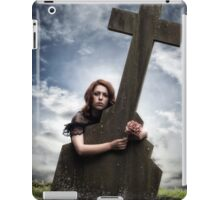 mourning iPad Case/Skin