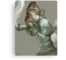 Starcraft 2 - Human Kerrigan Canvas Print