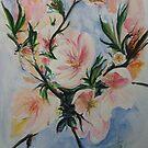 Almond Blossom  by lizzyforrester