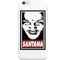 Santana iPhone Case/Skin