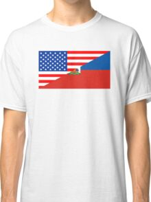 usa haiti Classic T-Shirt