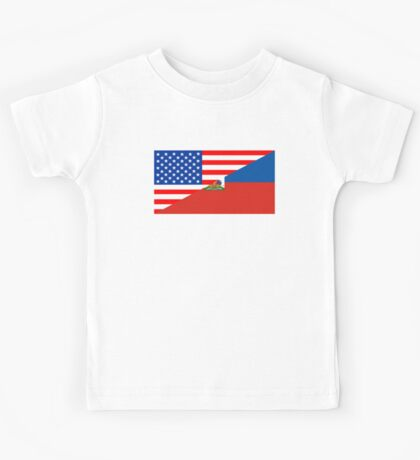usa haiti Kids Tee
