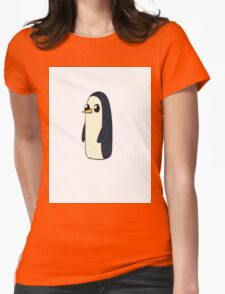 Lonely Penguin Womens Fitted T-Shirt