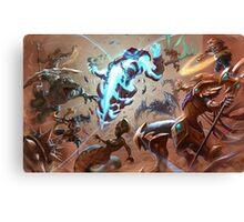 League of Legends - Shurima's Battle Canvas Print