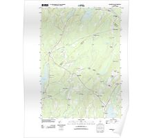 Maine USGS Historical Map Washington 20110906 TM Poster