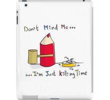 Pencil View - Killing Time iPad Case/Skin