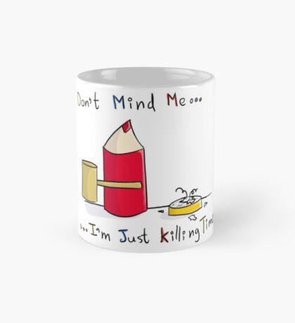 Pencil View - Killing Time Mug