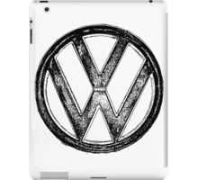 VW Logo iPad Case/Skin