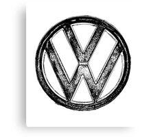 VW Logo Canvas Print