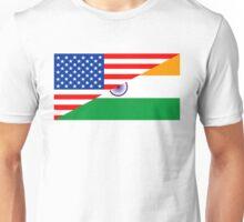 usa india Unisex T-Shirt