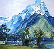 Mitre Peak by Alleycatsgarden